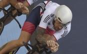 Wiggins se fractura la pierna