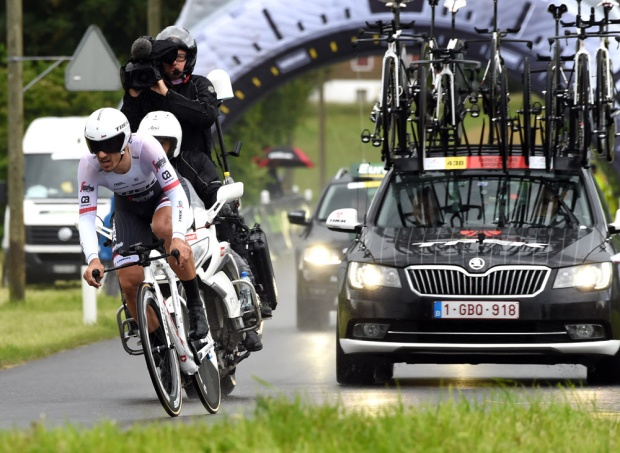 Fabian Cancellara in the 2016 Tour de Suisse