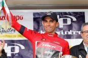 Contador líder de la Vuelta a Andalucía