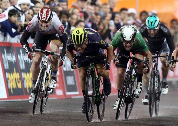 Caleb Ewan gana la 4ª etapa del Abu Dhabi Tour