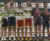 Font y Ávila ganan los campeonatos del mundo en persecución