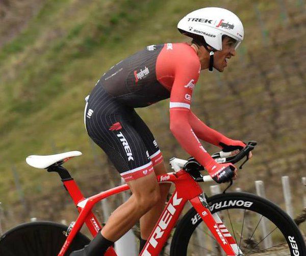 Alberto Contador en la crono de París - Niza