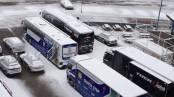 Nieve en la Volta a Catalunya