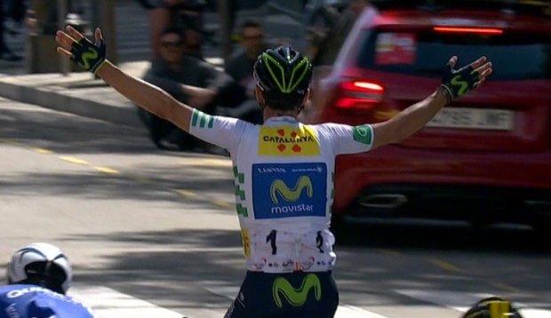 Valverde gana la 7ª etapa de la Volta a Catalunya