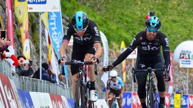 Geraint Thomas gana la tercera etapa del Tour de los Alpes