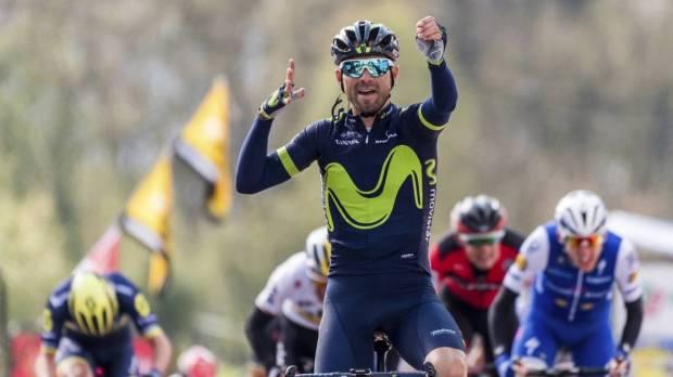 Valverde gana su quinta Flecha Valona
