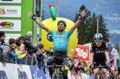 Scarponi gana la primera etapa del Tour de los Alpes
