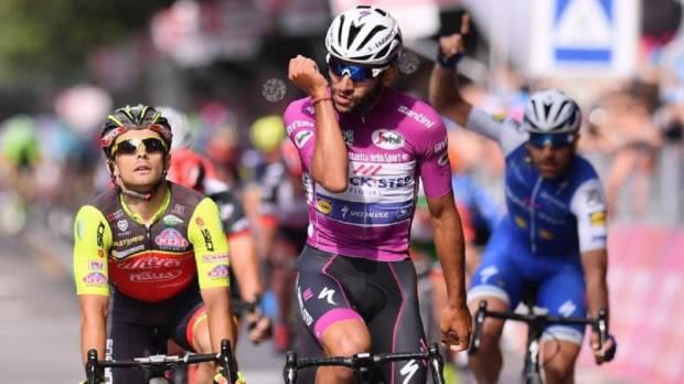 Gaviria gana la 12ª etapa del Giro de Italia