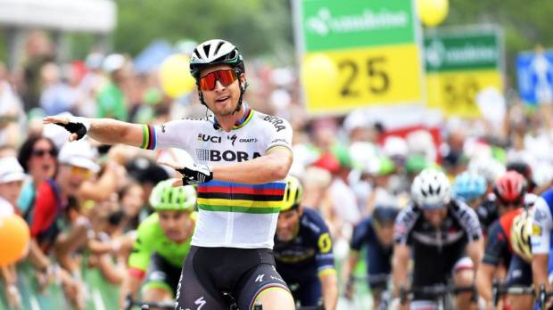 Peter Sagan gana la quinta etapa del Tour de Suiza