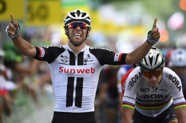 Matthews gana en la tercera etapa del Tour de Suiza