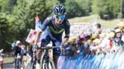 Nairo Quintana en la quinta etapa del Tour de Francia