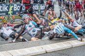 Caída en el Tour de Francia